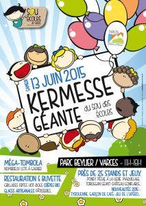 Affiche de la kermesse 2015